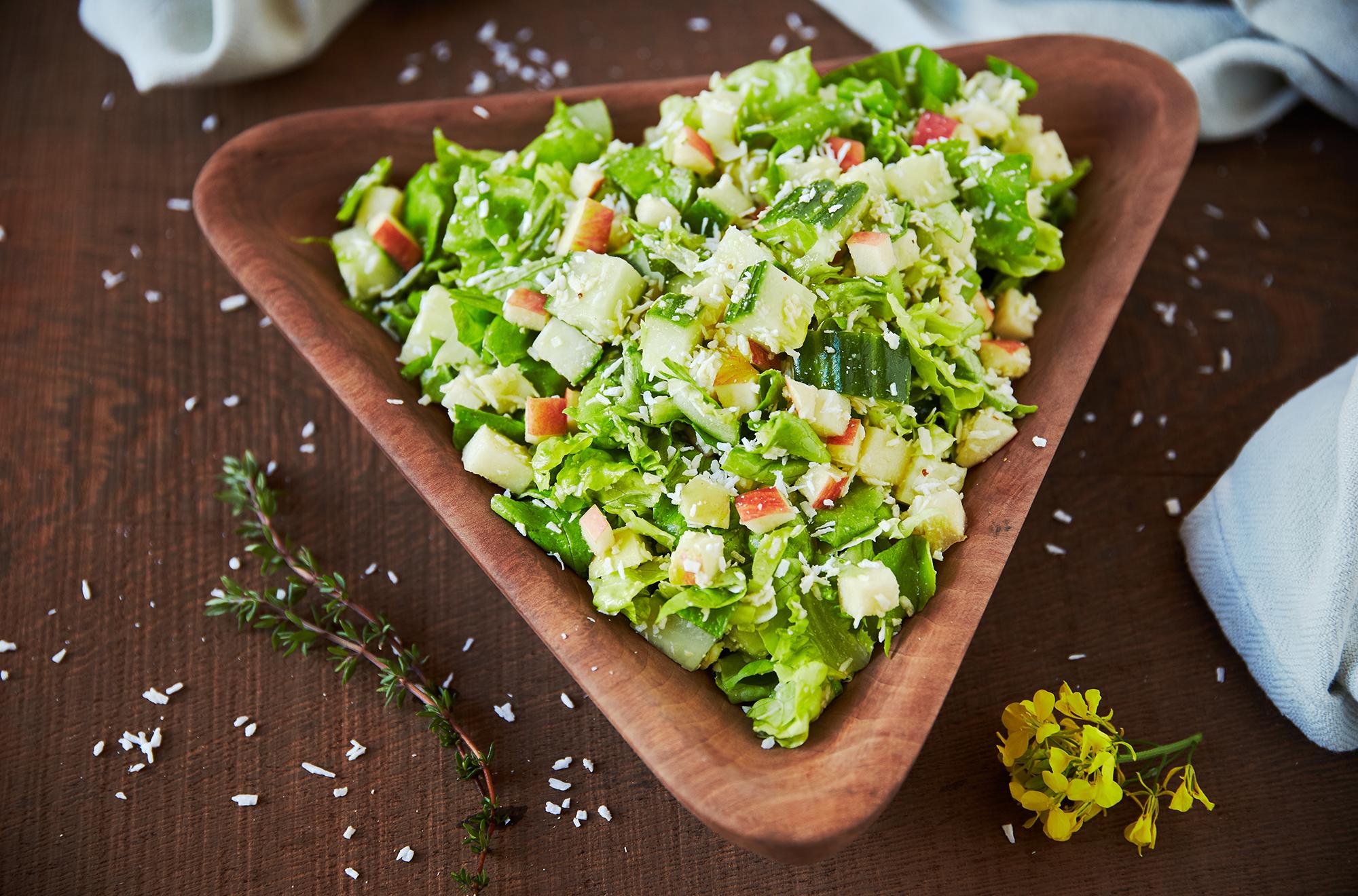 salat-med-hjemmelavet-sennepsdressing